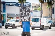 Global Climate Strike demonstration in Oceanside, CA on 9/20/2019