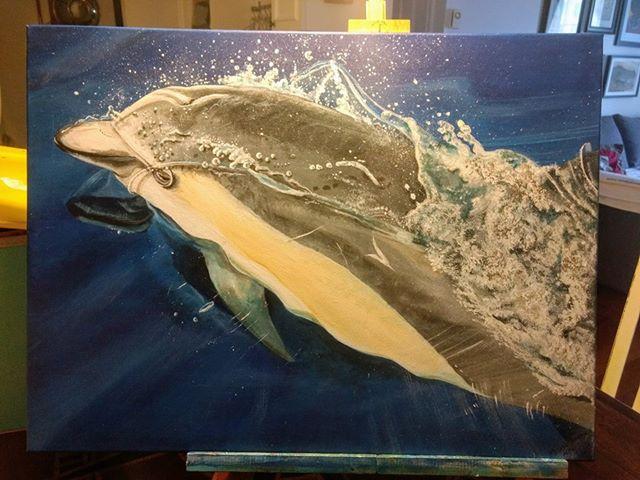 Melanie Rouillard Lonsdale - Inspired Painting