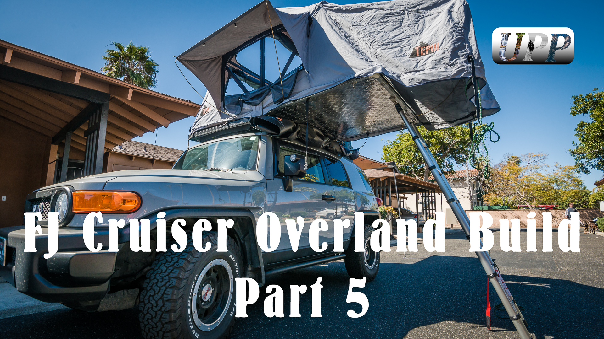 FJ Cruiser Overland Build Part 5 – Accessories