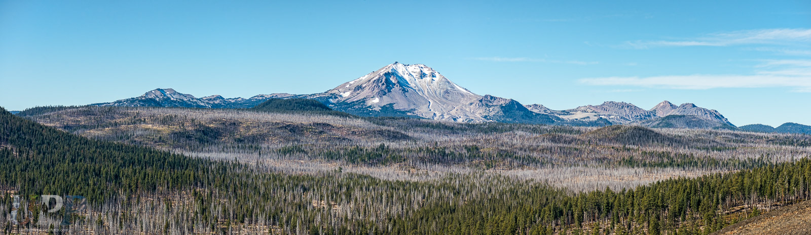 Lassen Peak from the Cinder Cone