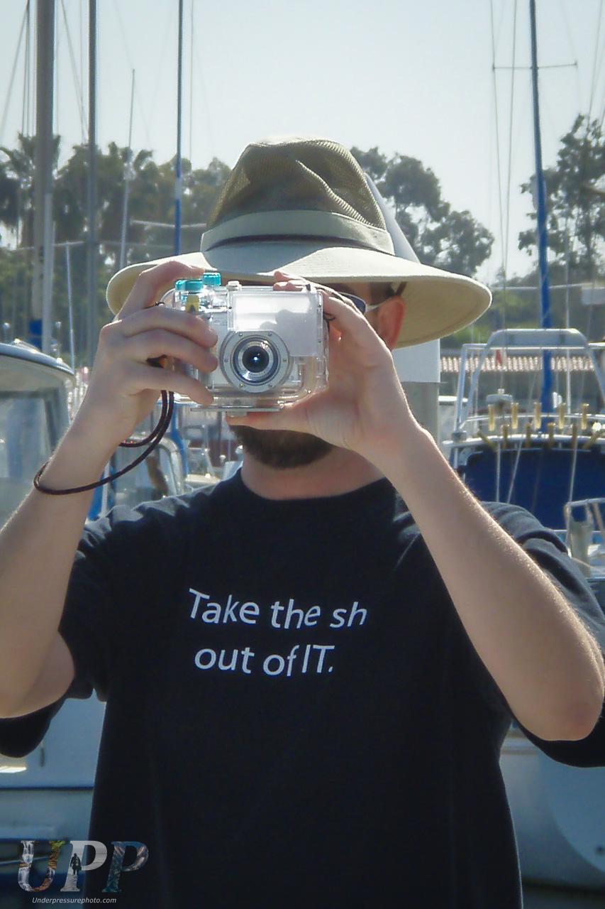 My First Underwater Camera