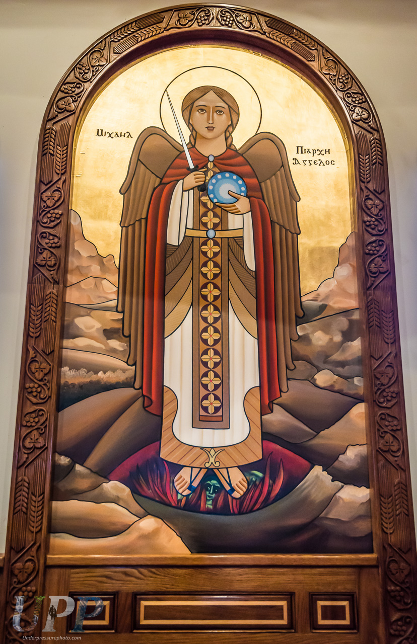 Artwork at St Antony's Coptic Monastery
