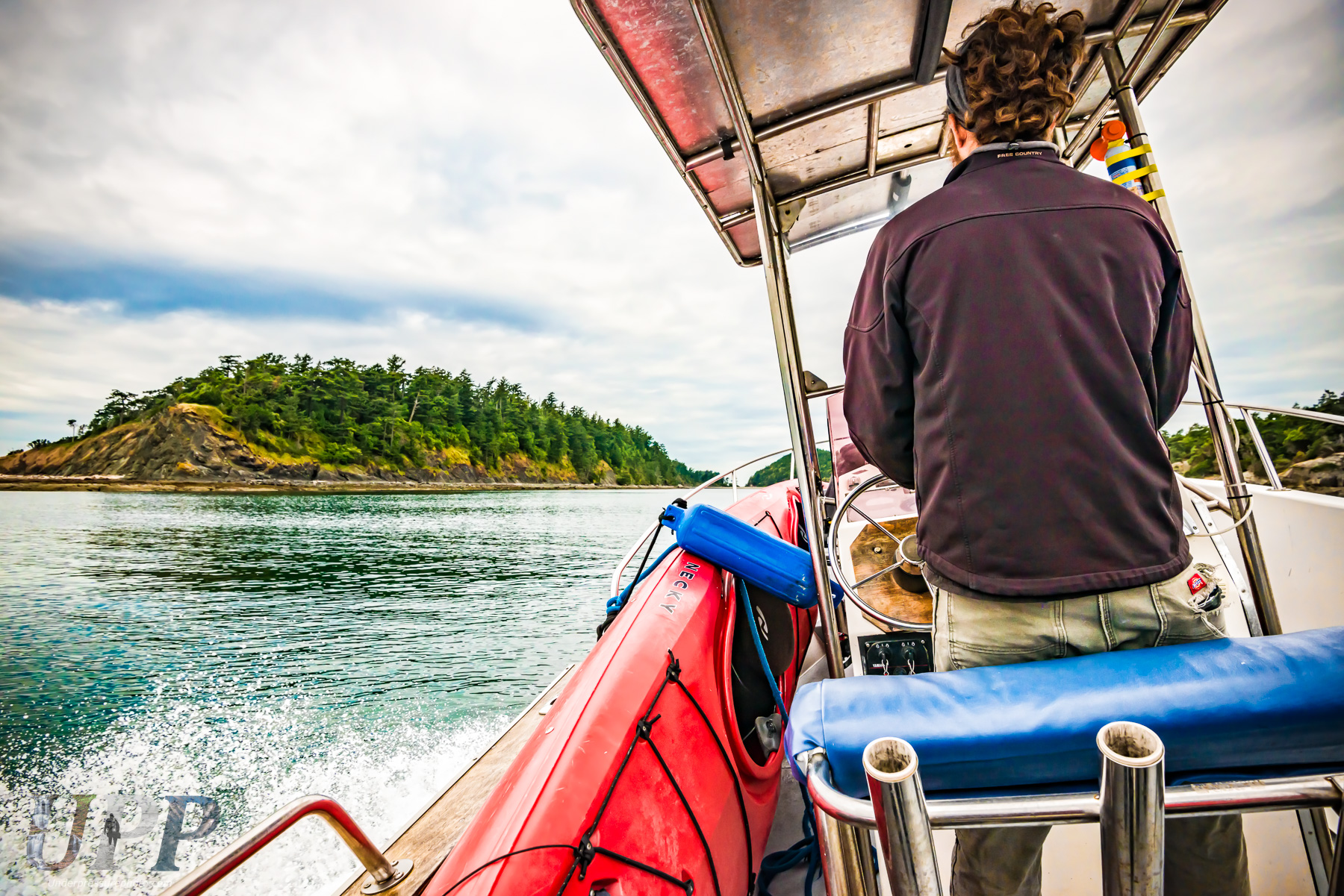 We arrive at Sucia Island with Captain Benson