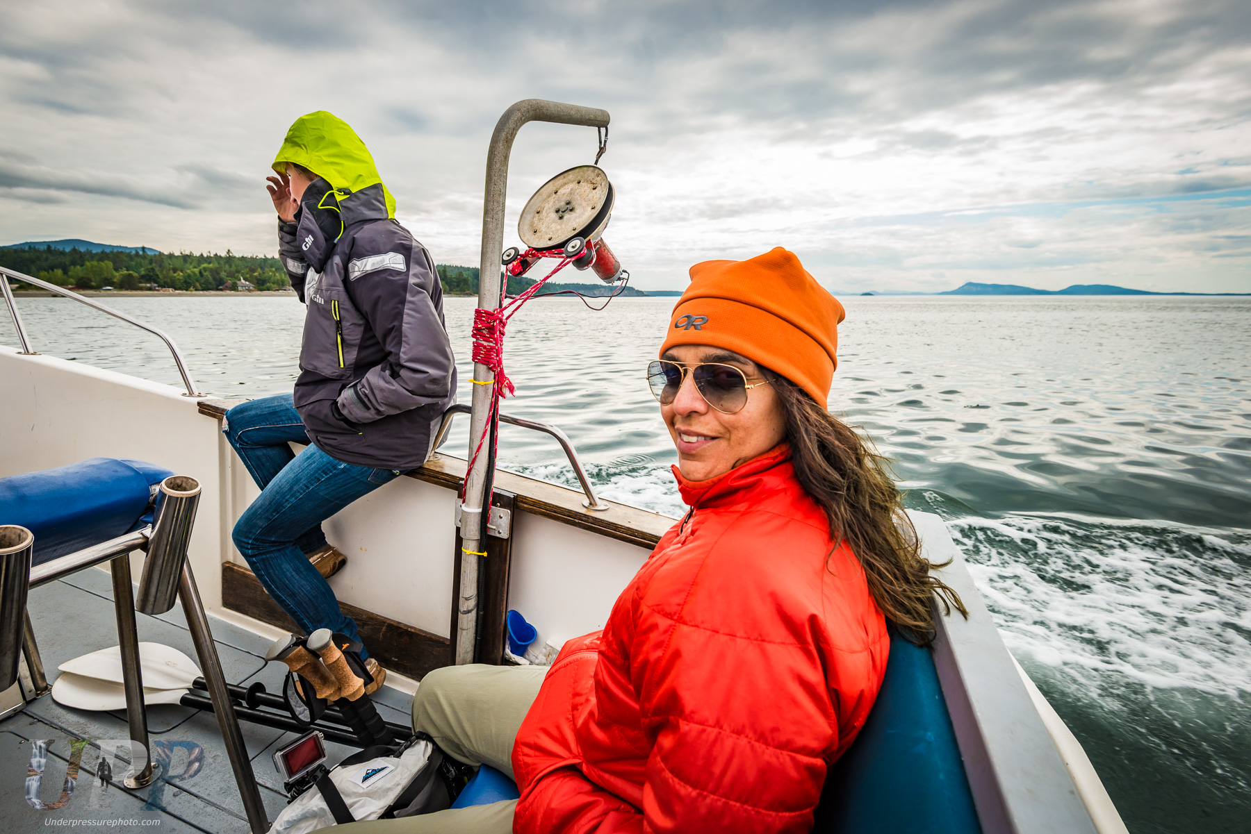 CrtrGrl & Lindsay heading back to Orcas Island
