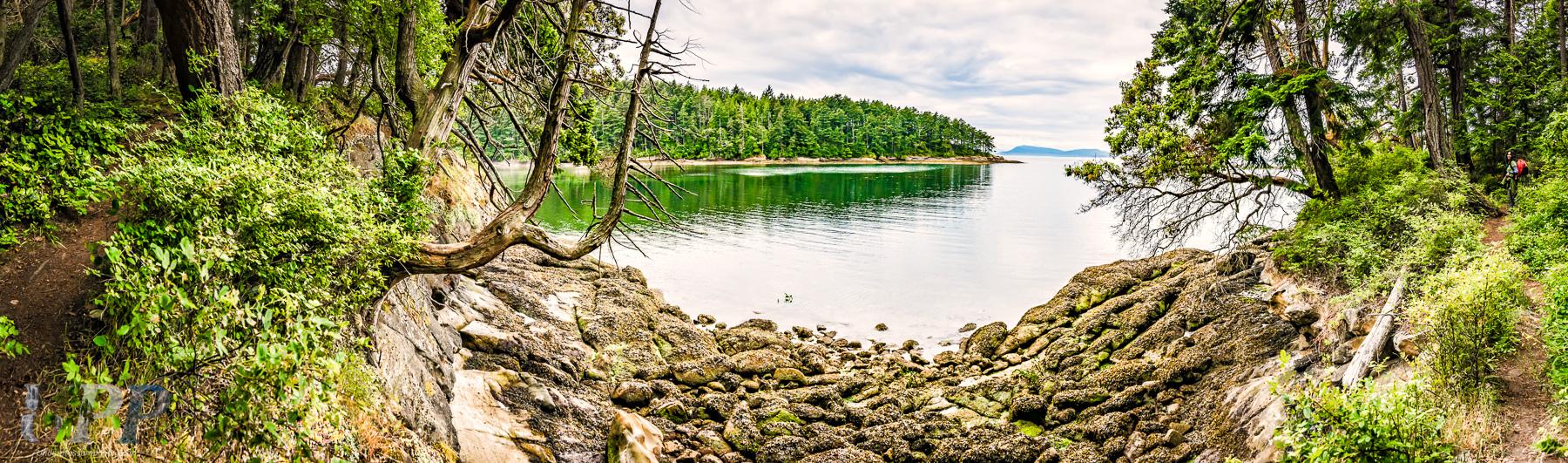 Shallow Bay on Sucia Island, WA.